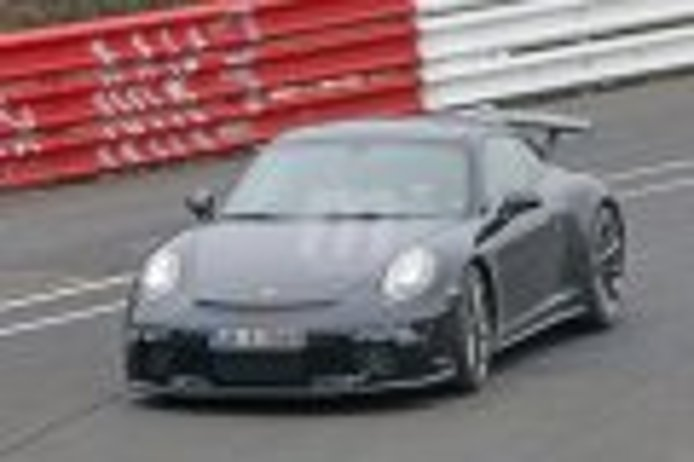 Porsche 911 GT3 2017, en Nürburgring: nuevas fotos espía de su 'restyling'