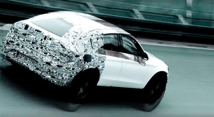 Mercedes GLC Coupé - teaser
