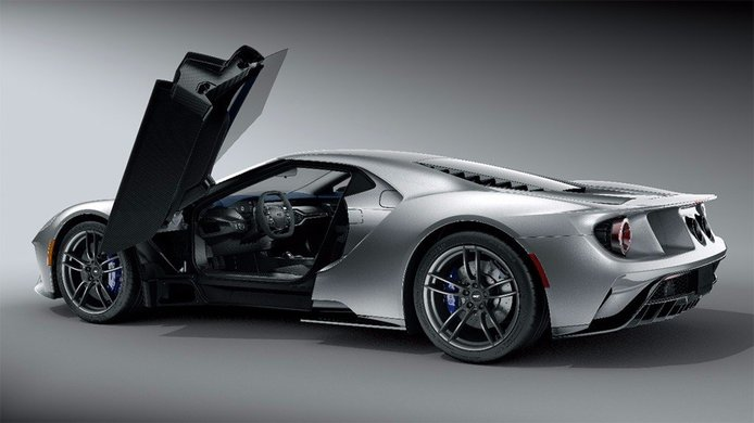 Los colores y materiales usados en el nuevo Ford GT no han sido elegidos al azar