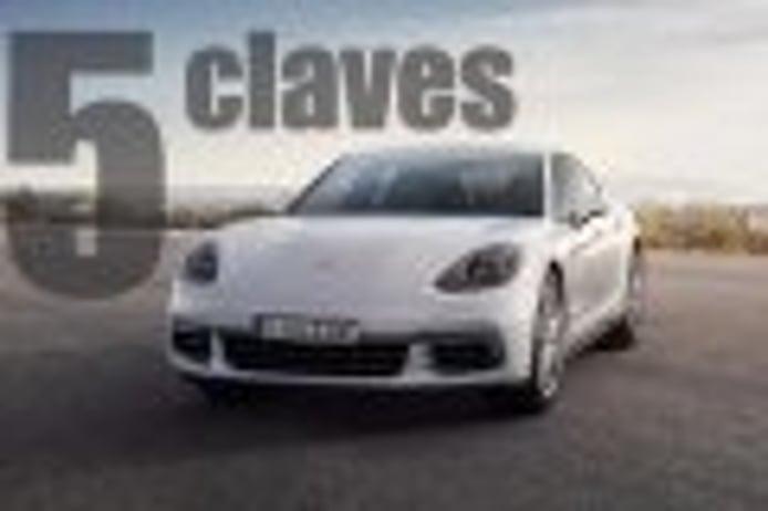 El nuevo Porsche Panamera 4 E-Hybrid en 5 claves