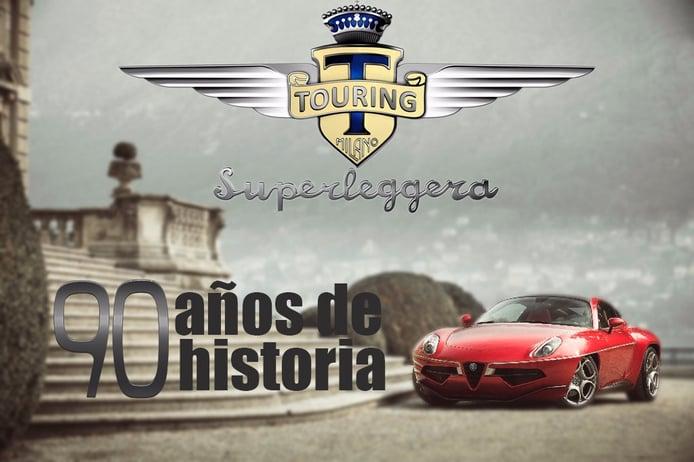 Los 90 años de historia de Touring Superleggera