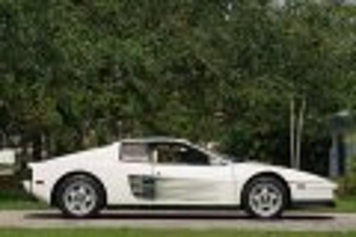 La verdadera historia del Ferrari Testarossa blanco de Miami Vice