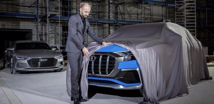 Audi Q8 Concept - teaser