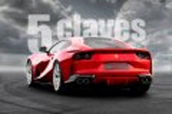Ferrari 812 Superfast: las 5 claves del último V12 atmosférico de Maranello