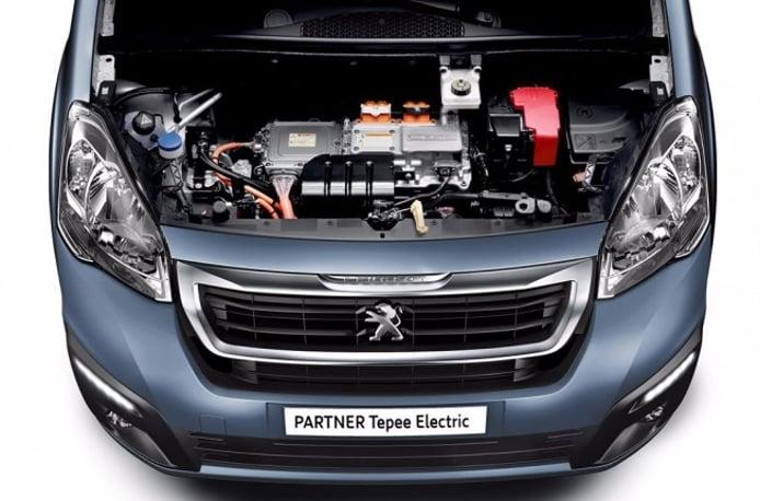 Peugeot Partner Tepee Electric 2017 - motor eléctrico