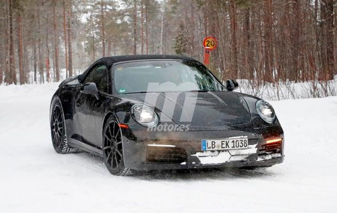 Porsche 911 Cabriolet: Los primeros prototipos de la nueva generación 992