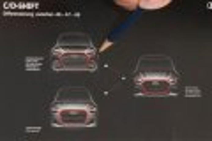 Audi presenta los nuevos detalles de estilo de los futuros A6, A7 y A8