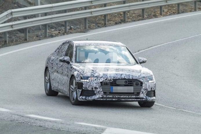 Audi A6 2018 - foto espía frontal