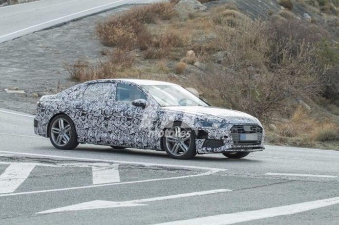 Audi A6 2018 - foto espía