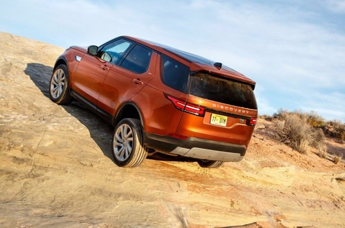Land Rover Discovery 2017 - posterior