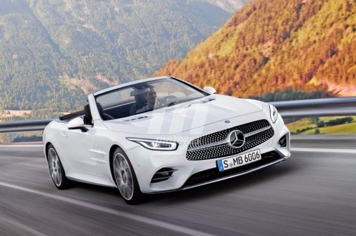 Mercedes SL 2018 - recreación