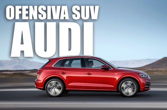 Ofensiva SUV de Audi