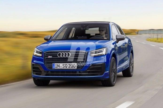 Audi SQ2 - recreación
