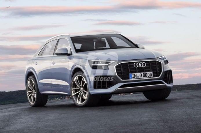 Audi Q8 - recreación