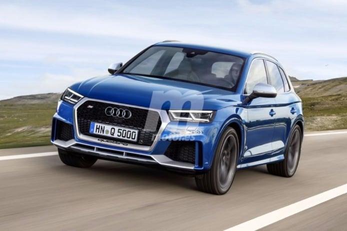 Audi RS Q5 - recreación