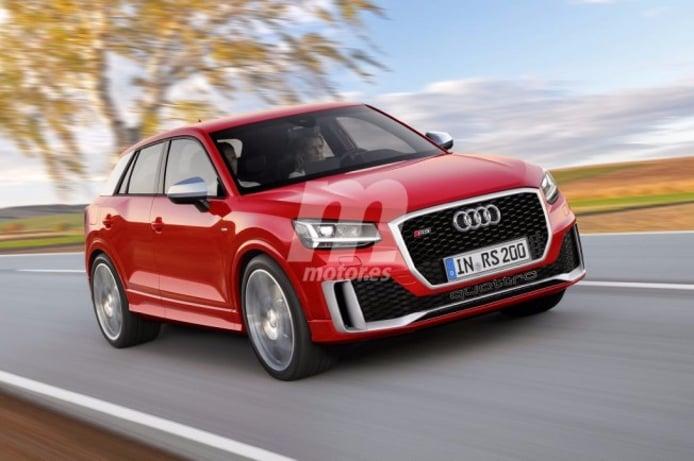 Audi RS Q2 - recreación