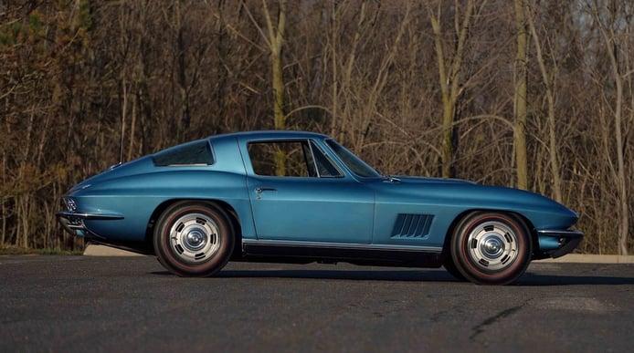 El Corvette de un héroe de guerra se convierte en uno de los 'Vettes más caros de la historia