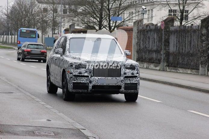 El Rolls-Royce Cullinan se estrenará en 2018