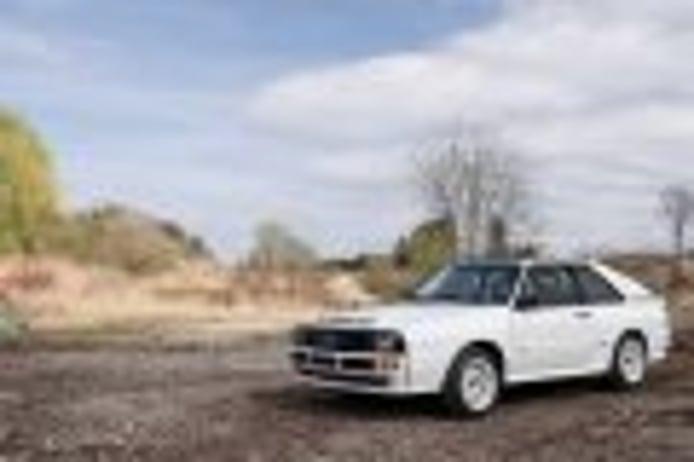 Audi Sport Quattro: a subasta una de las leyendas del Grupo B