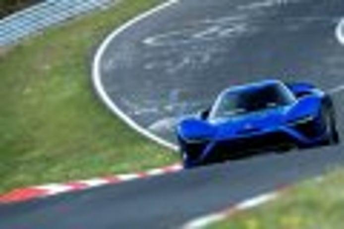 El NIO EP9 pulveriza el récord de Nürburgring con un crono de 06:45.90