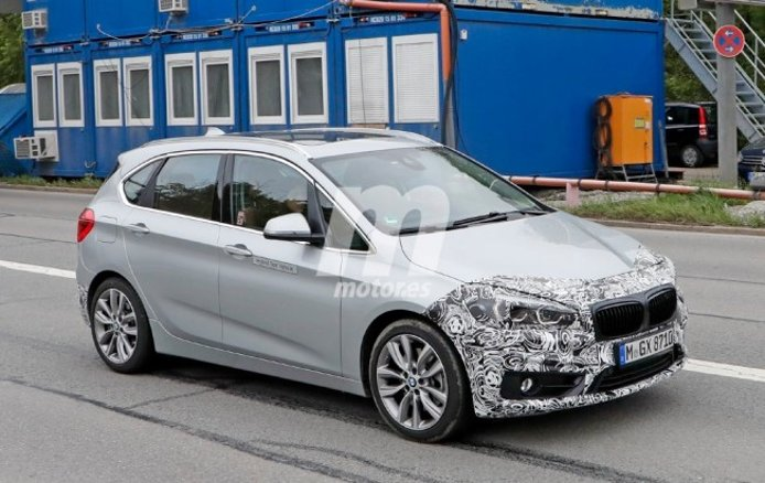 BMW Serie 2 Active Tourer 2018 - foto espía
