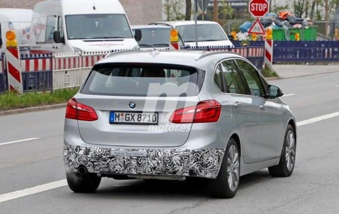 BMW Serie 2 Active Tourer 2018 - foto espía posterior