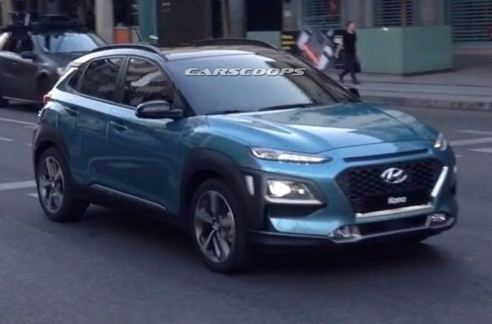 Hyundai Kona 2018 - foto espía