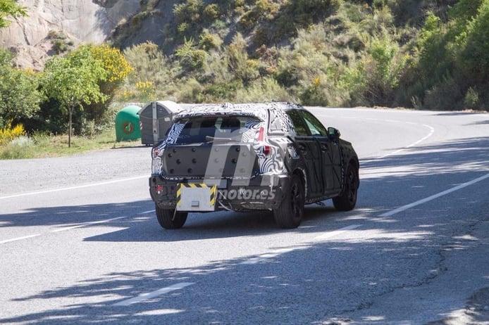 Volvo XC40 2018: cazado en España realizando pruebas de emisiones