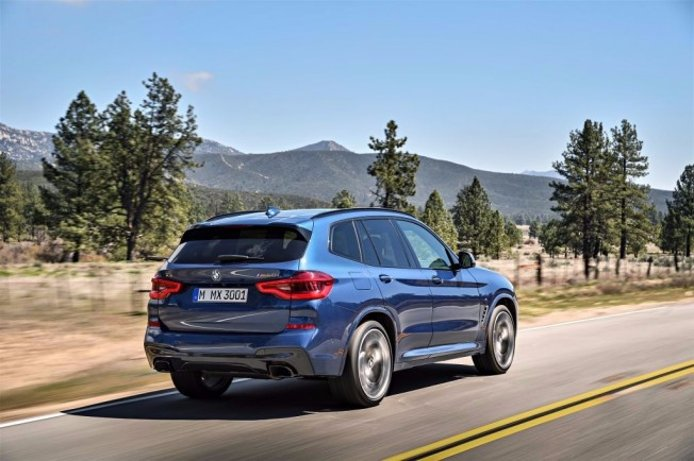 BMW X3 M40i 2018 - posterior