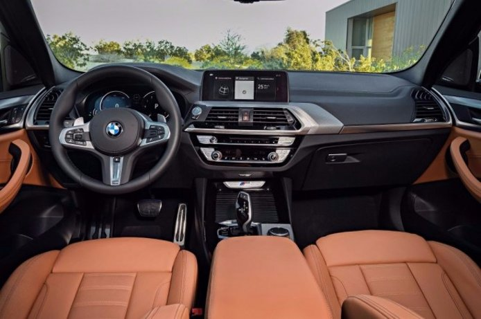 BMW X3 M40i 2018 - interior