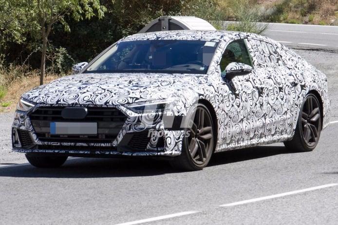 Audi S7 Sportback: culminando su programa de pruebas en España