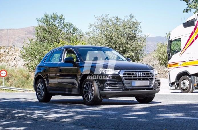 Audi Q5 e-tron 2018 - foto espía