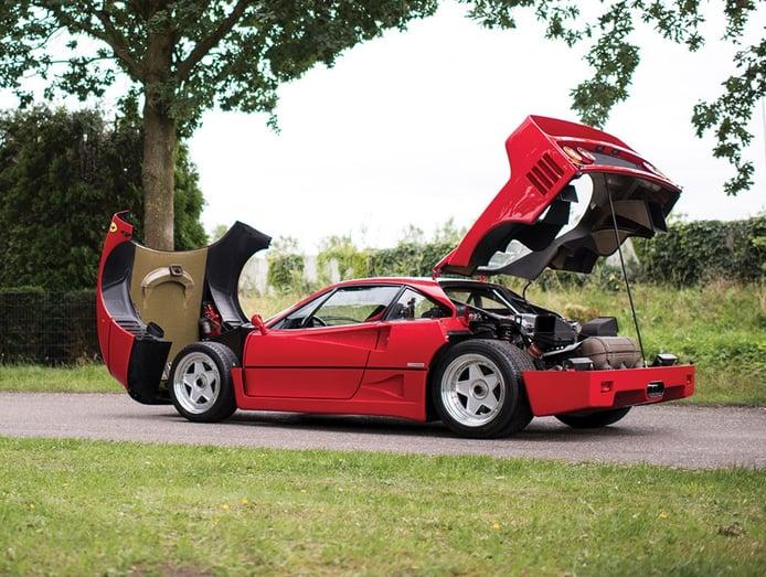 Aún estás a tiempo de comprar un Ferrari F40 en Maranello