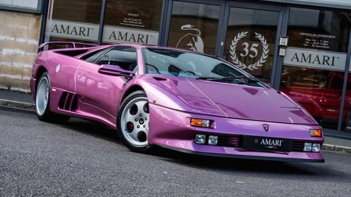 Lamborghini Diablo SE30: el ejemplar más célebre del Diablo Aniversario a la venta