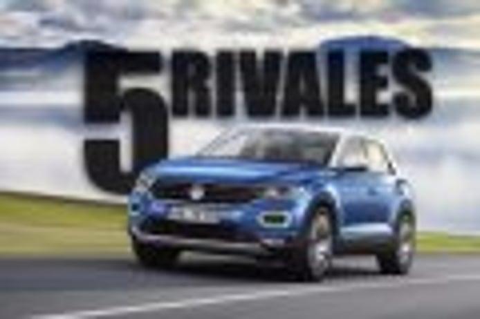 Los 5 rivales a los que el Volkswagen T-Roc deberá hacer frente