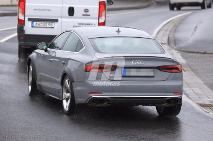 Audi RS 5 Sportback 2019 - foto espía posterior