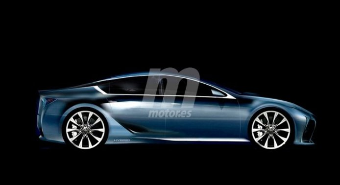 Lexus GS - coupé de cuatro puertas
