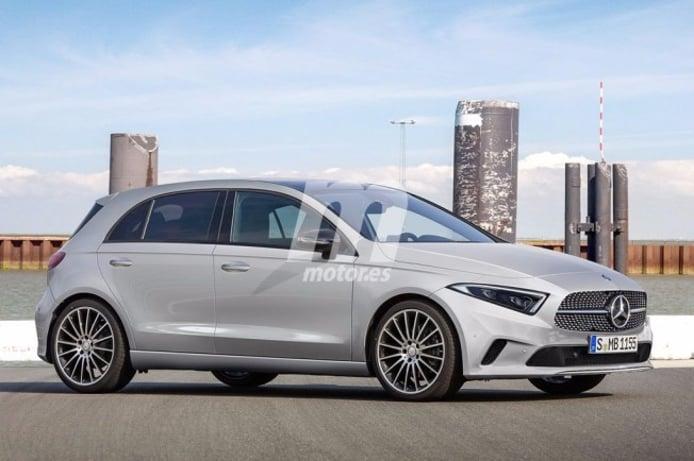 Mercedes Clase A 2018 - recreación