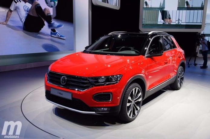 Volkswagen T-Roc - Salón de Frankfurt 2017