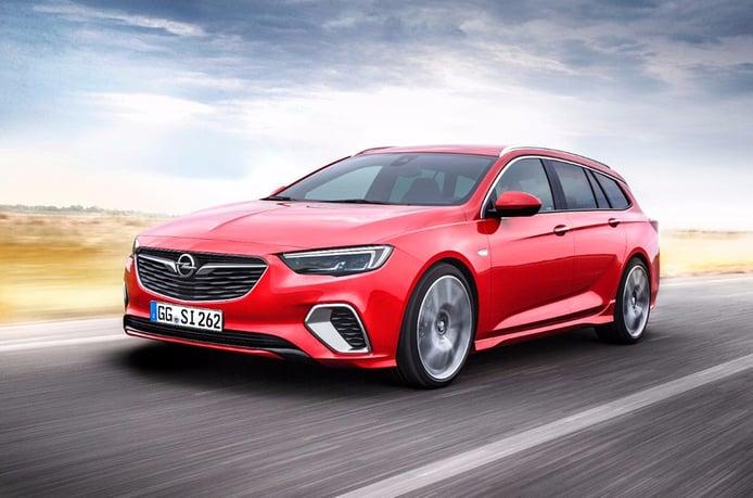 Opel Insignia Sports Tourer GSi: familiar y deportivo