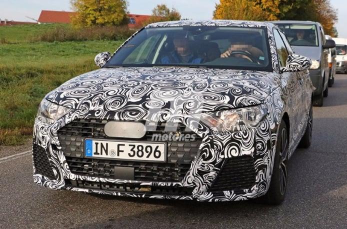 Audi A1 2018 - foto espía