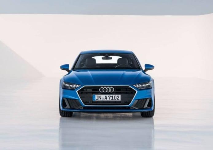 Audi A7 Sportback 2018 - frontal