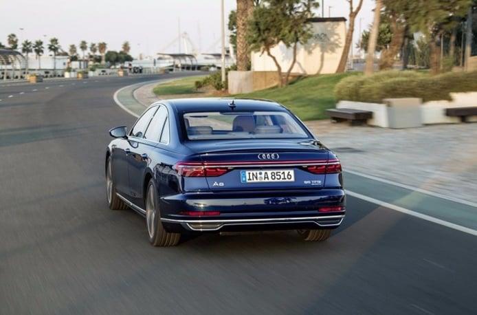 Audi A8 2018 - posterior
