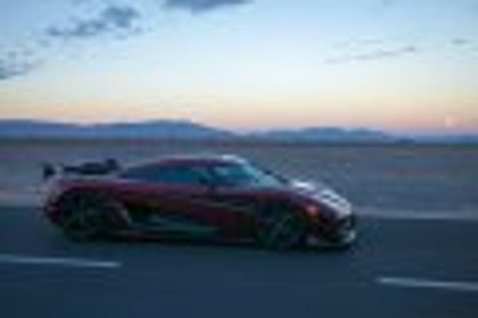 El Koenigsegg Agera RS rompe todos los récords alcanzando 447 km/h