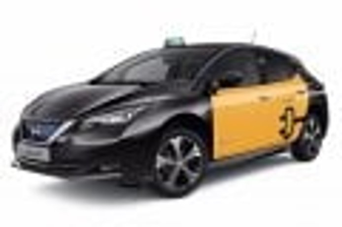 El nuevo Nissan Leaf 2018 se presenta como taxi en Barcelona