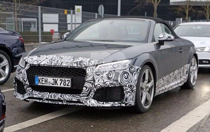 Audi trabaja en el restlying del TT RS Roadster para que debute en 2018