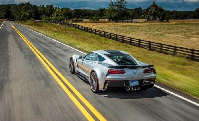Chevrolet Corvette - posterior