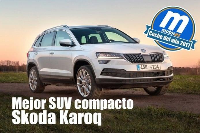 Skoda Karoq - Mejor SUV compacto 2017 para Motor.es