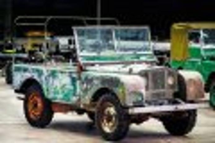 Land Rover restaurará este año el ejemplar superviviente más antiguo del Defender
