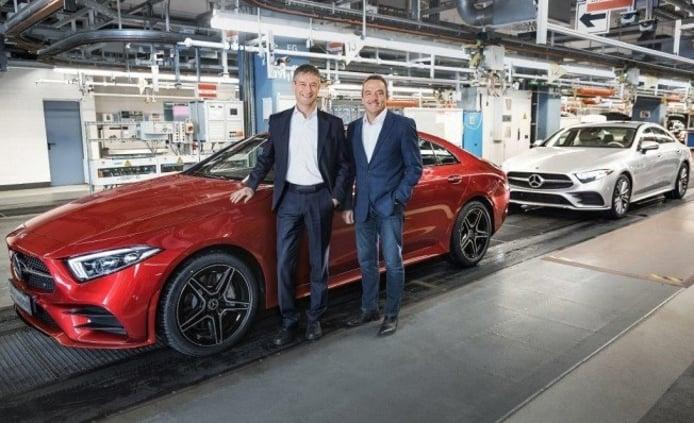 Mercedes Clase CLS 2018 - producción
